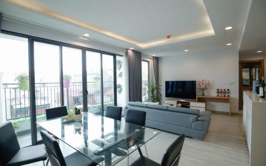 Appartement 3 chambres en location a Hanoi quartier Long Bien