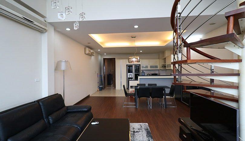 Duplex meublé en location quartier Truc Bach à Hanoi