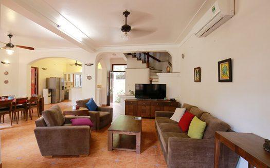Maison meublée avec jardin à louer à Hanoi quartier Tay Ho
