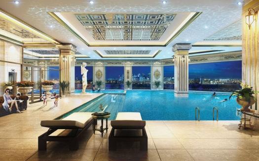 Dleroi Soleil Xuan Dieu heating indoor pool
