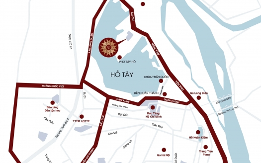 D'Le Roi Soleil location map