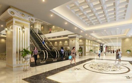Dleroi Soleil Xuan Dieu shopping mall