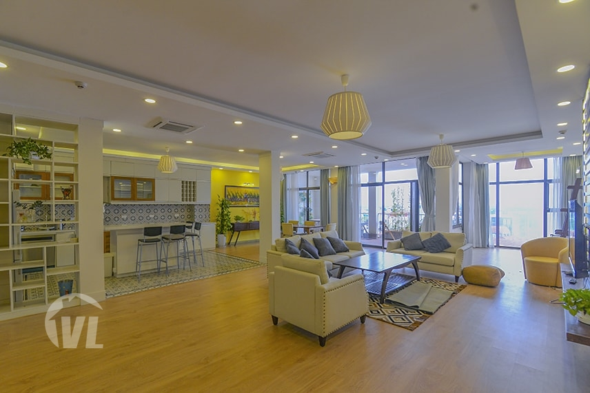 222 Serviced apartment 4 bedroom Tay Ho for rent