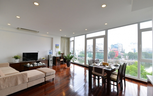 Spacious one bedroom apartment with large balcony on To Ngoc Van