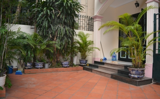 Front yard 5 bedroom house in To Ngoc Van Hanoi