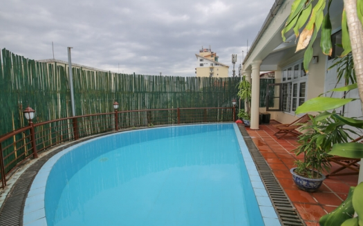 Furnished 5 beds house with swimming-pool in Tay Ho