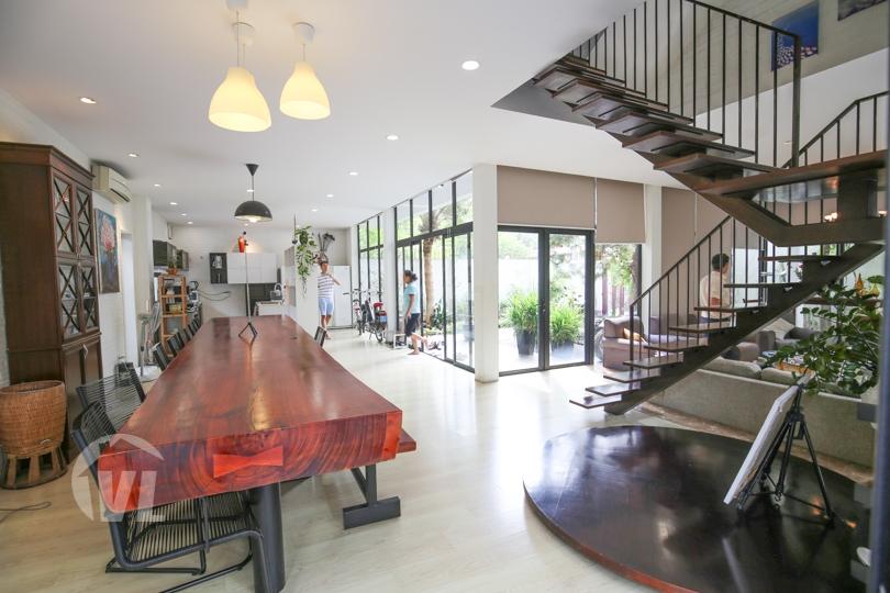333 Hanoi modern house to rent next to French International School Long Bien