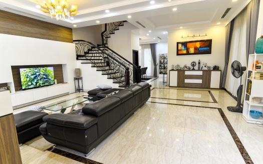 Minimalist and modern furnished rental house in Vinhomes Riverside Hanoi