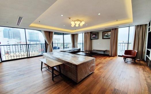 Modern 3 beds serviced apartment in Hoan Kiem area Hanoi city