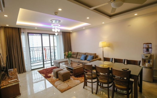 Nice 2 bedroom apartment in Tay Ho- D'le Roi soleil building