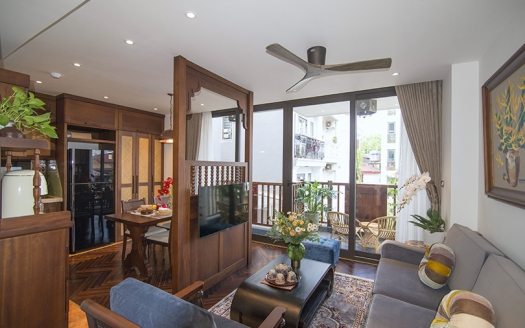 Spectacular Indochine style 2 bedroom apartment in Hoan Kiem