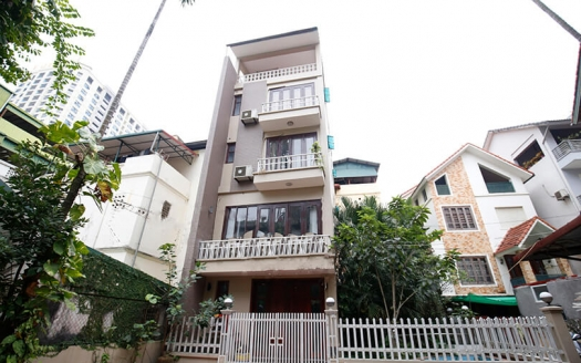 furnished 5 bedrooms house for rent in Tay Ho, Hanoi