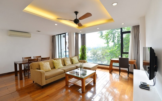 Modern 2 bedroom apartment for rent in Truc Bach