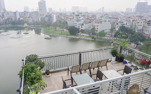 Lake view two bedroom apartment on Ho Ba Mau