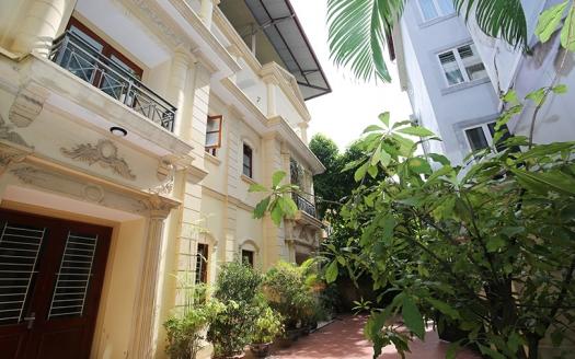 5 bedrooms villa to rent in Hanoi on To Ngoc Van Lane