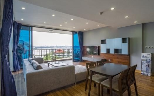 Beautiful lake view, swimming pool 2 bedroom apartment in Tu Hoa