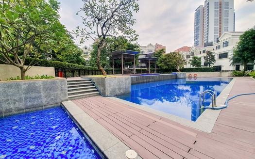Detached villa to let in Vinhomes Starlake in Hanoi