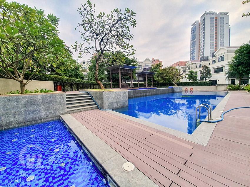 222 Detached villa to let in Vinhomes Starlake in Hanoi