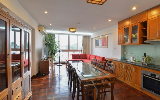 Duplex 3 bedrooms apartment in Truc Bach, reasonable price