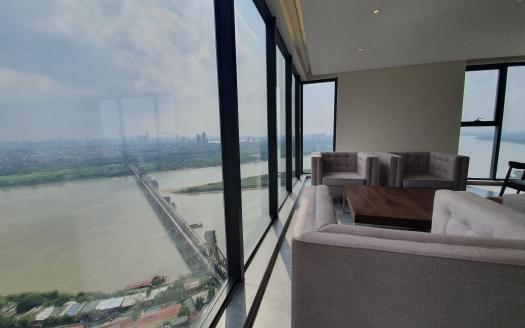 Duplex apartment to rent in Mipec Riverside close to LFAY Hanoi