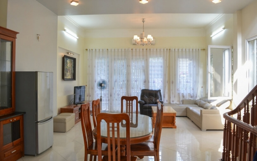Furnished 4 bedroom house in Xuan Dieu Tay Ho