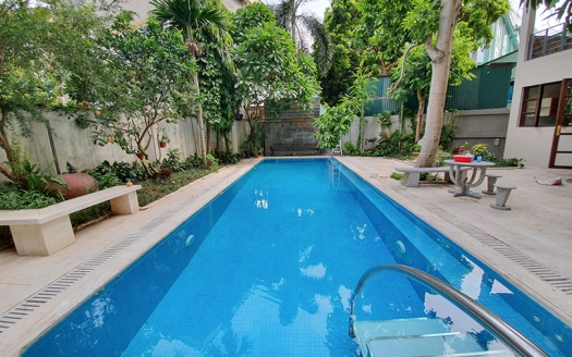 Furnished house with swimming pool in Long Bien close to LFAY Hanoi