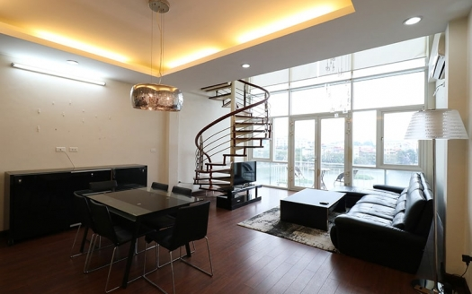 Gorgeous duplex to rent in Truc Bach Hanoi with lake view