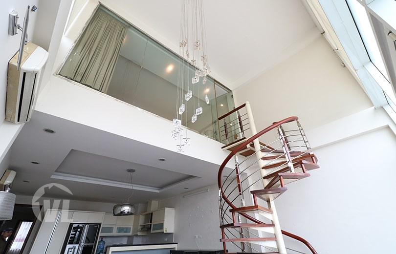 333 Gorgeous duplex to rent in Truc Bach Hanoi with lake view