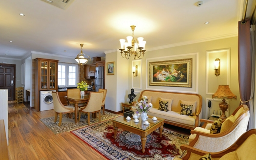 High-end serviced 2 bedroom apartment in Hai Ba Trung
