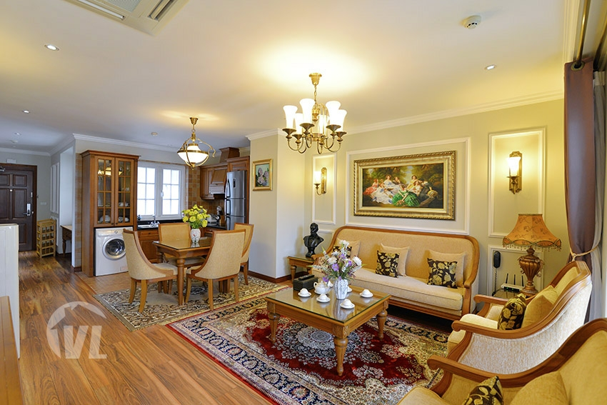 222 High-end serviced 2 bedroom apartment in Hai Ba Trung