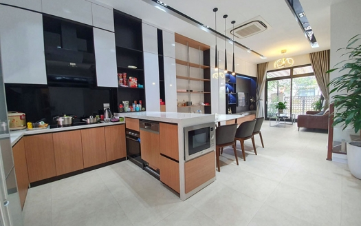 Modern furnished house to rent in Hanoi Starlake compound