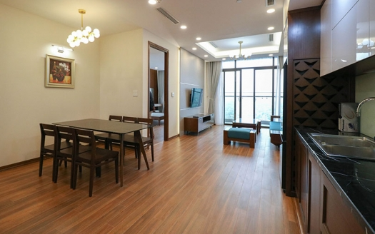Brandnew furnished 2 bedroom apartment at Sungrand City Thuy Khue