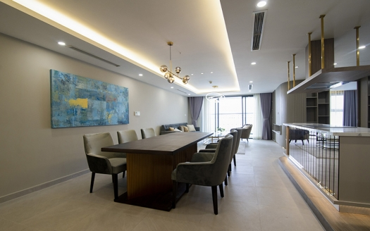 Modern 3 bedroom apartment in Tay Ho with gorgeous lake view