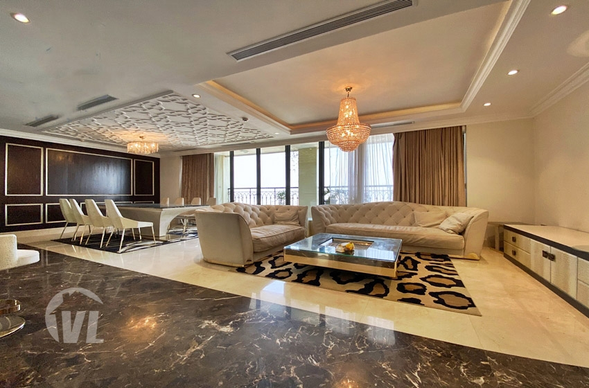 222 235 sq m apartment to rent in Hoang Thanh tower Hai Ba Trung district