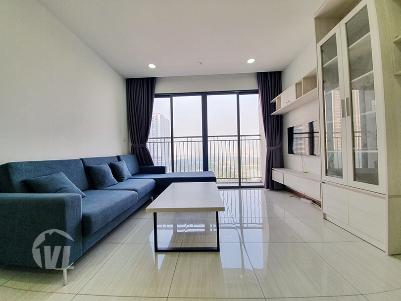 222 3 beds apartment with open view in Ngoai Giao Doan