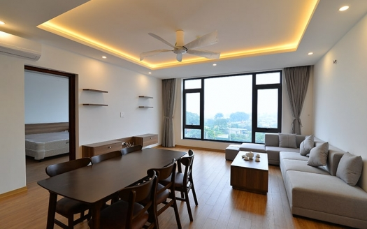 modern furnishing 2 bedroom apartment for rent in Tay Ho