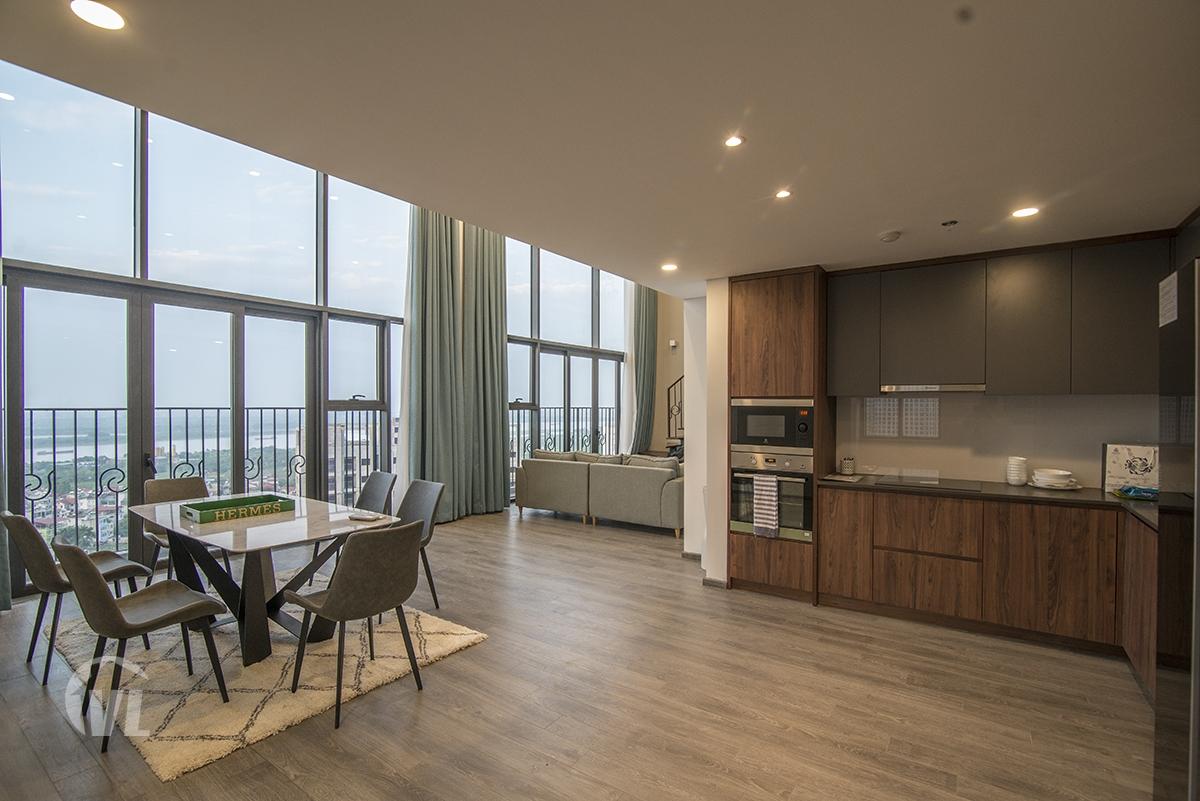 222 good price 3 bedroom apartment for rent in PentStudio Tay Ho