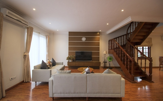 Gorgeous 3 beds duplex apartment to lease in Hoan Kiem district