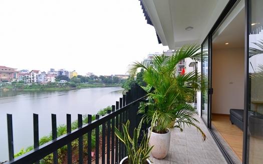 Lake view 3 bedroom apartment in Tay Ho Hanoi
