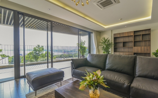Lake view 3+ bedrooms in Tay Ho, spacious size and modern
