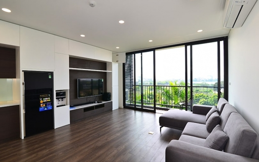 Modern 2 bedrooms apartment in Trinh Cong Son with balcony
