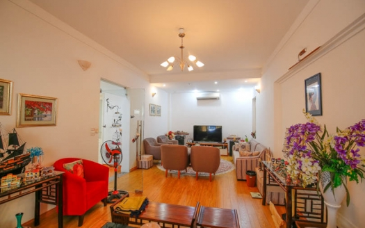 Partly furnished 5 bedroom house in Tay Ho Hanoi