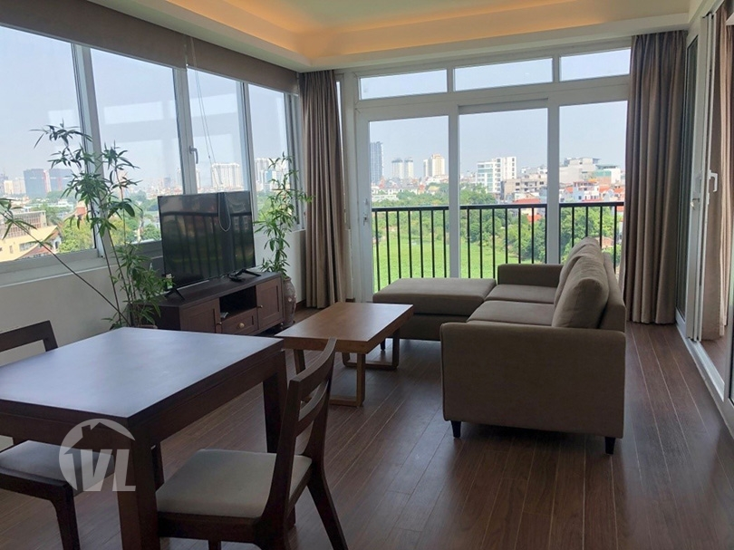 222 Lake view To Ngoc Van apartment
