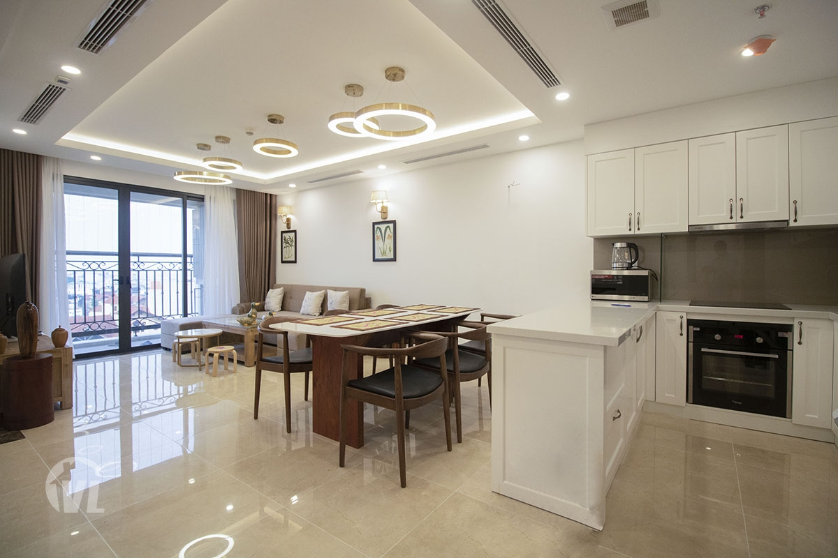 222 Good apartment 3 bedroom in Dle Roi Soleil Tay Ho