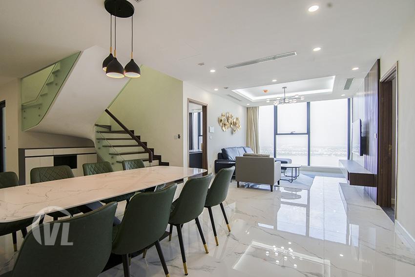 222 Modern furnished Sunshine City duplex apartment with stunning view
