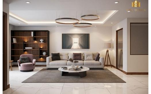 Brand new 2 bedrooms apartment in Hanoi Aqua Central