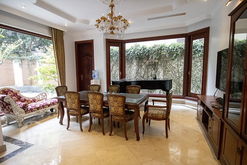 333 Ambassador villa in Ciputra to rent with large outdoor space