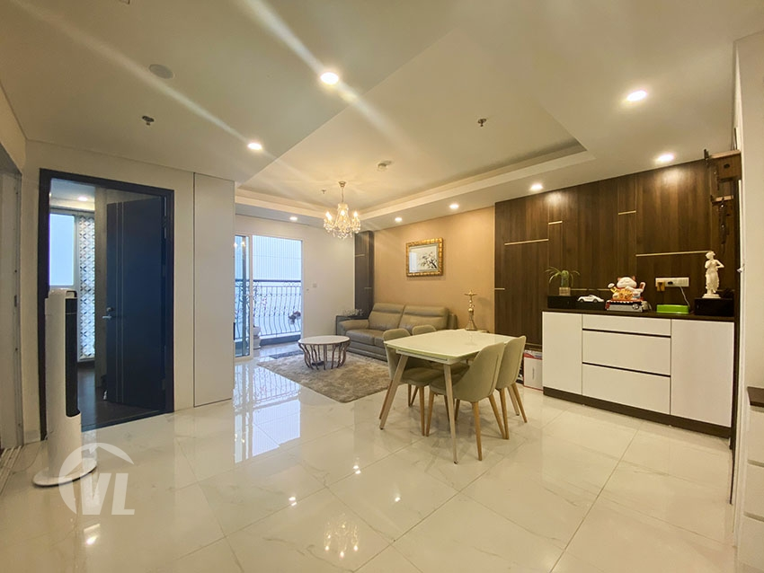 222 Furnished 3 bedrooms apartment in Aqua residence Truc Bach area