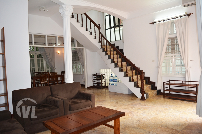 222 Furnished 5 bedrooms house to rent in To Ngoc Van area