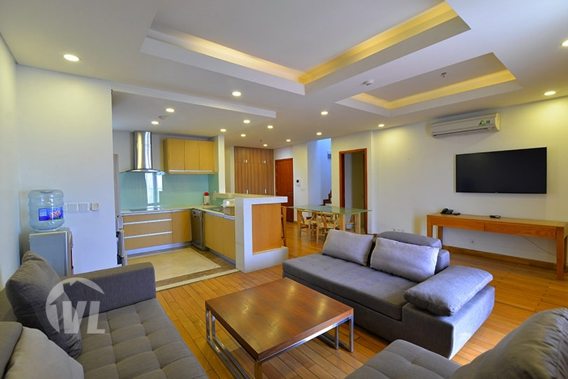 333 Furnished duplex apartment with terrace in Tay Ho district